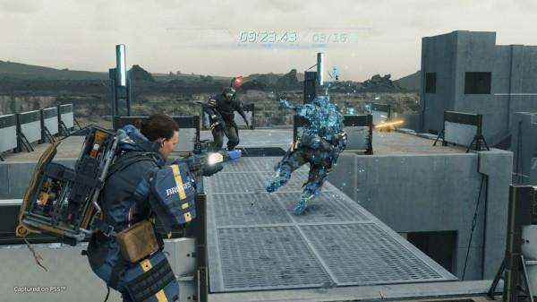 Death stranding director's cut screen combat
