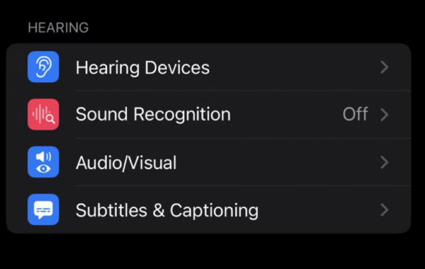 iOS 15 Background Sounds