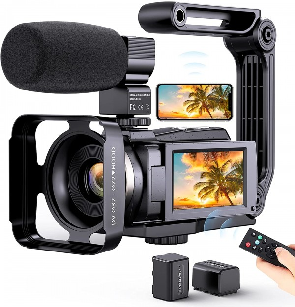 Aufoya 4K Video Camera Camcorder