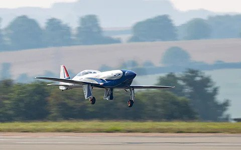 Rolls-Royce Electric Airplane Flies for the First Time | The Goal is to Beat 300 Mph