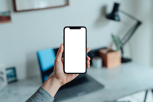Iphone white screen