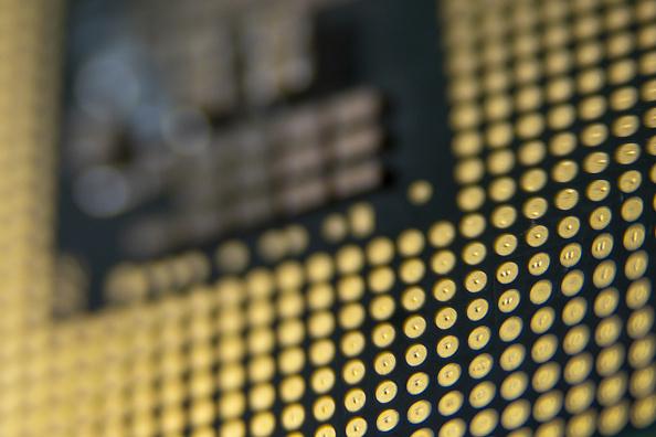 Intel cpu back