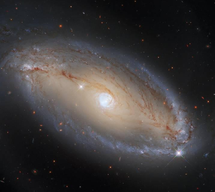 Hubble image seyfert galaxy