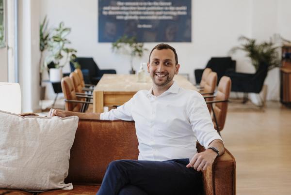 Inkitt CEO Ali Albazaz