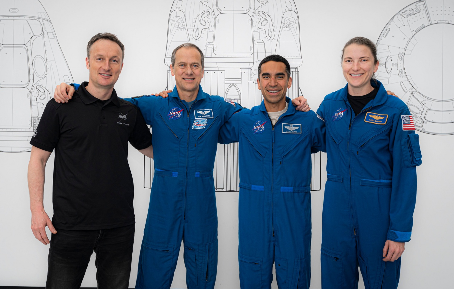 SpaceX's Crew-3 Mission Astronauts