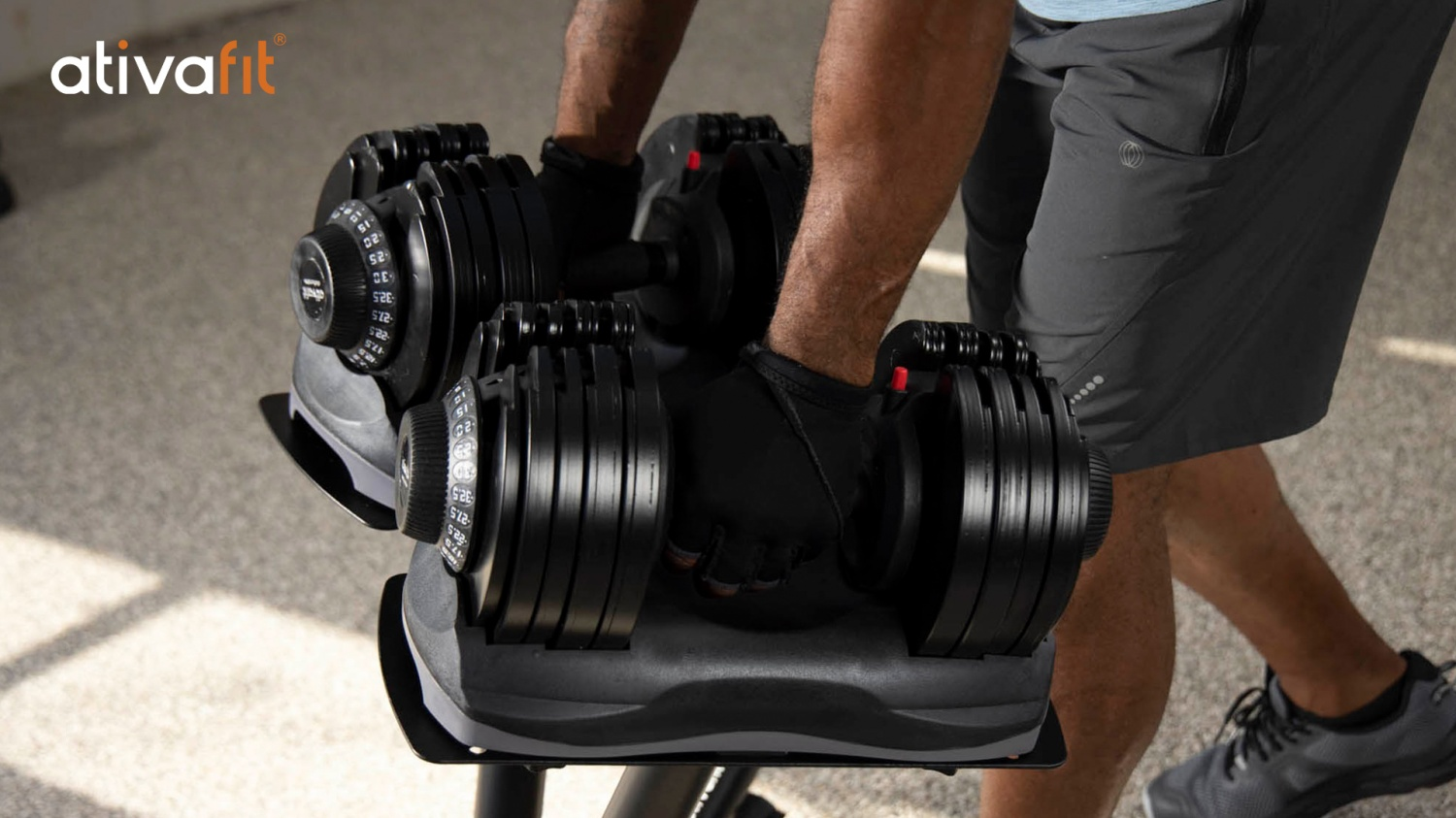 ATIVAFIT Adjustable Dumbbell, Exercise Bike Would Complete Your At-Home Gym in No Time!