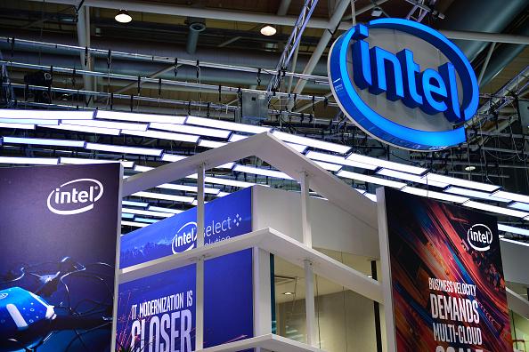 Intel logo event