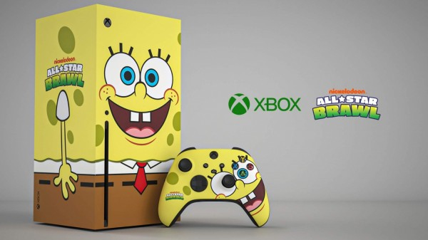 Xbox Series X Spongebob Squarepants Theme