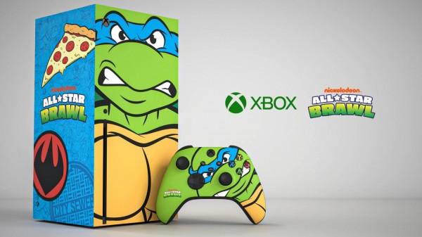 Xbox Series X Leonardo Theme