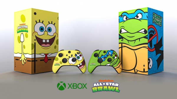 Xbox Series X and Nickelodeon All-Star Brawl