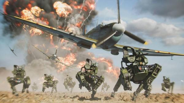 Battlefield 2042 screen robo dogs