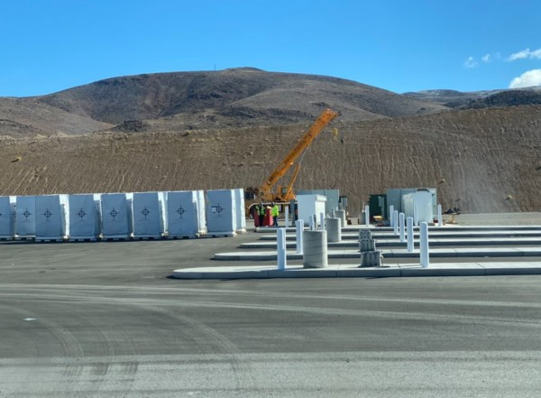 Tesla is Installing Megachargers on Semi Electric Truck At Gigafactory Nevada