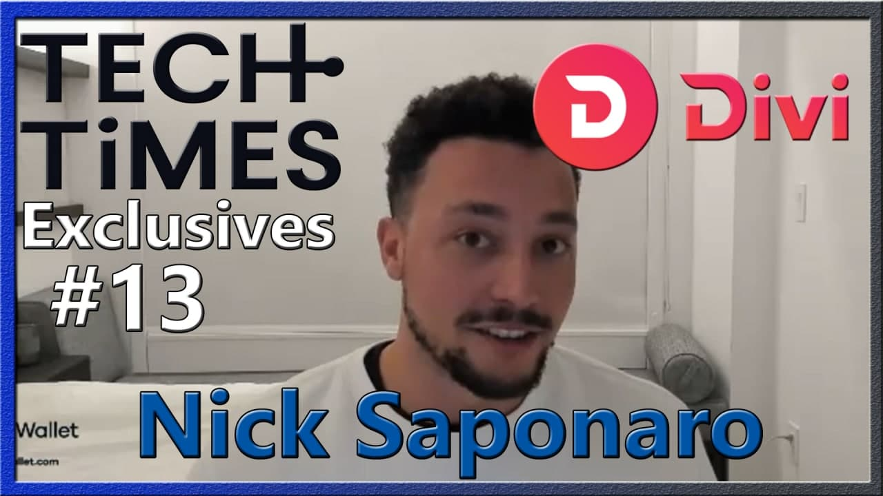 Tech Times Exclusives #13: Interview with Divi CEO & Co-Founder Nick Saponaro