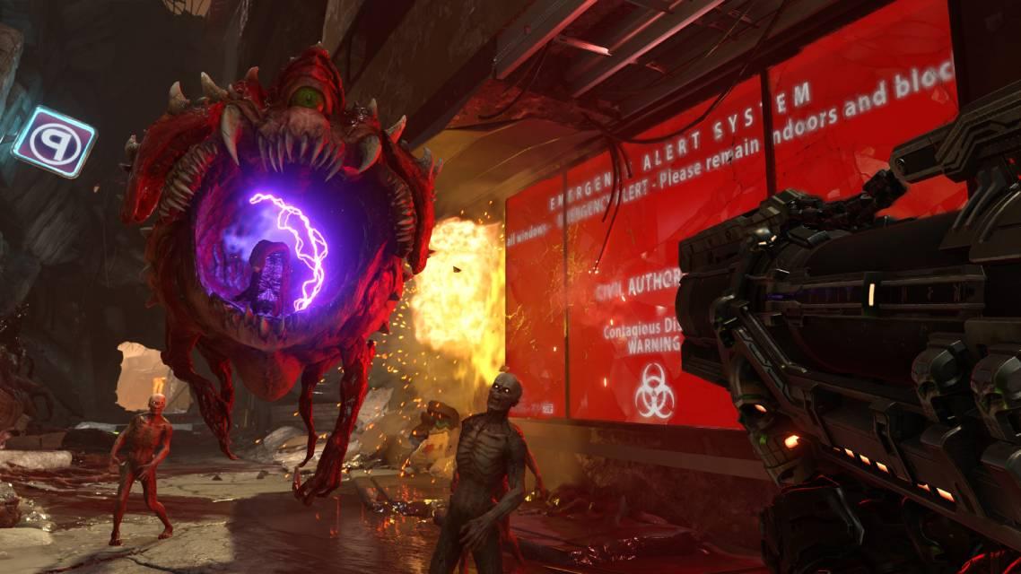 Doom eternal screen 1