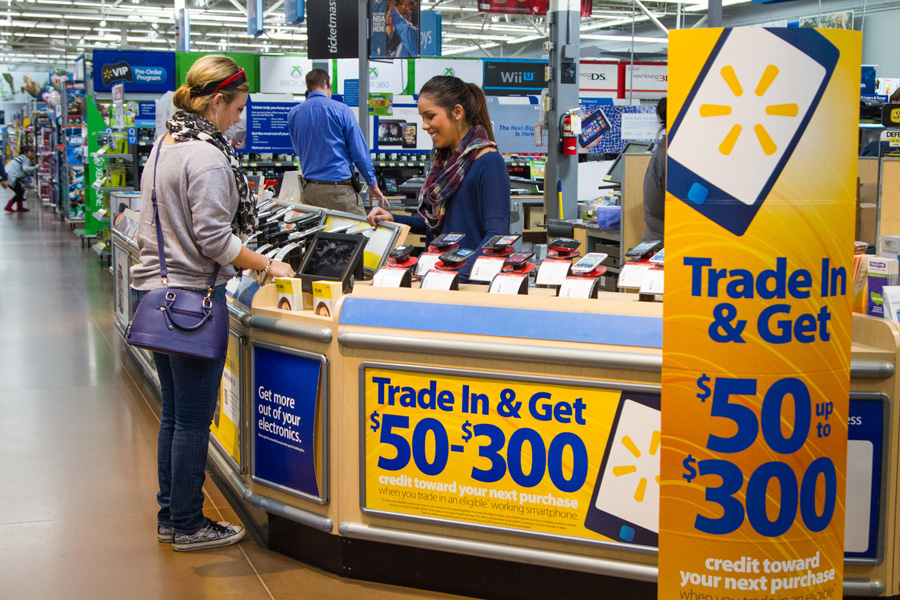 Walmart trade in