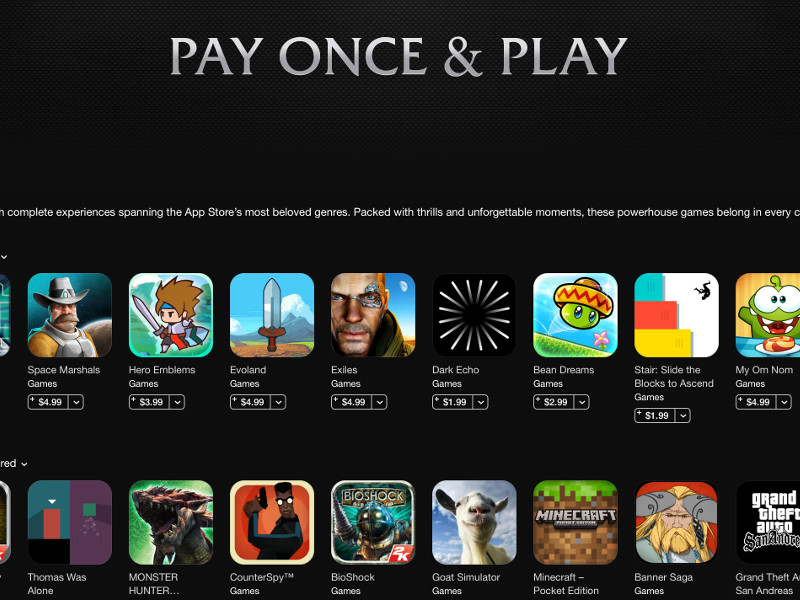 Pay Once & Play