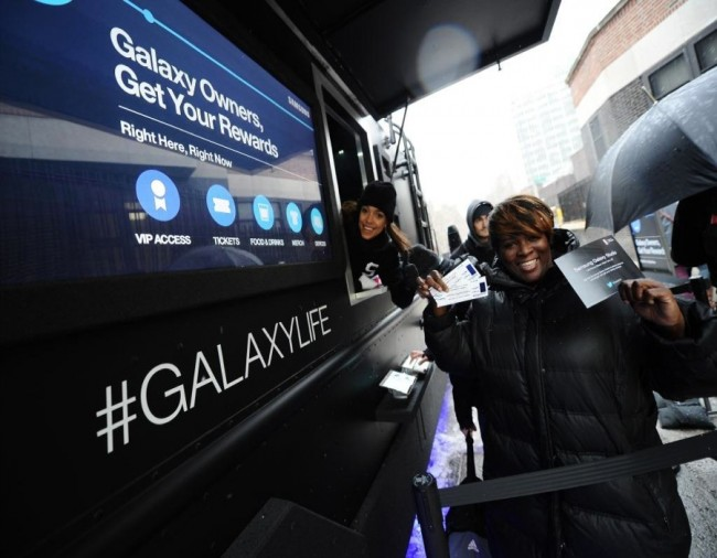 Samsung Galaxy Experience