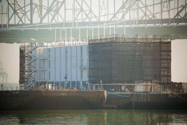 Google's mysterious barge