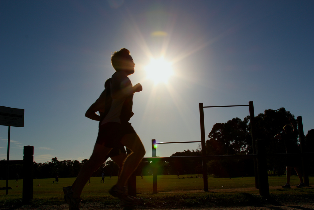 Running at 40 can bring back those early athletic benefits.