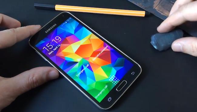 Samsung Galaxy S5 Fingerprint Sensor Hack