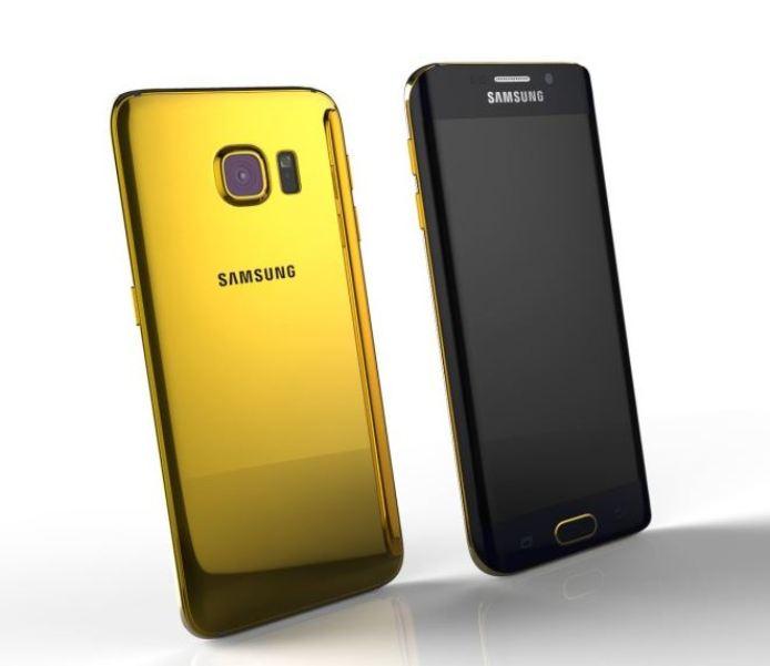 Samsung Galaxy S6 24K Gold