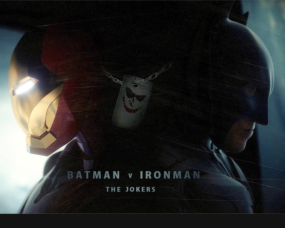 'Batman v. Iron Man: The Jokers' fan film poster