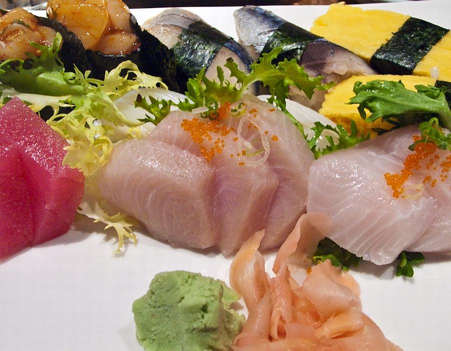 Wasabi, Sushi and Sashimi