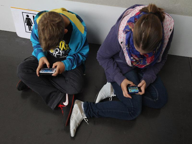 Teenagers online