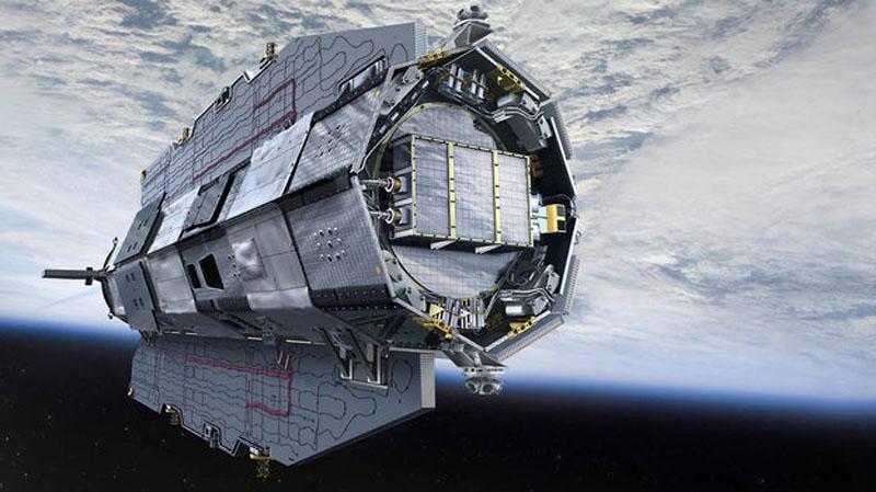 GOCE satellite