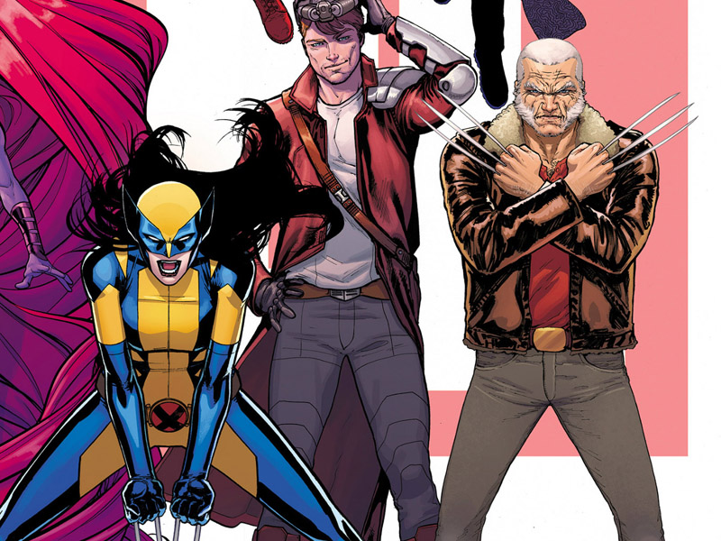 The new female Wolverine and Old Man Logan