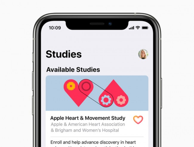 Apple unveils large-scale research studies tracking activity, hearing and women's health