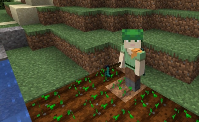 Minecraft 3 Now Has Chicken Chomping Foxes Brown Mooshrooms And More On Its Bedrock Edition Tech Times
