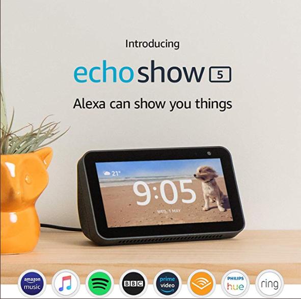 Looks Like The Amazon Echo Show 5 Black Friday Buzz Isn't over yet!