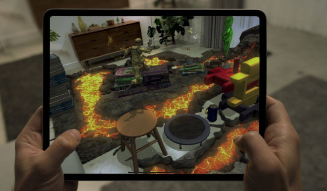 Turn Your Living Room Into Hot Lava: Fun New Apple's iPad Pro's LIDAR Scanner Brings the Fun Back Home