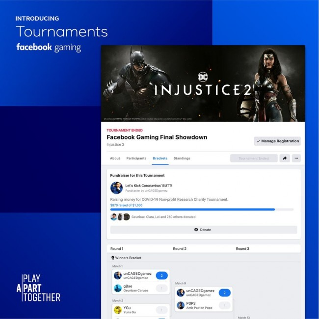 Facebook Gaming is Now Launching Tournaments for Everyone